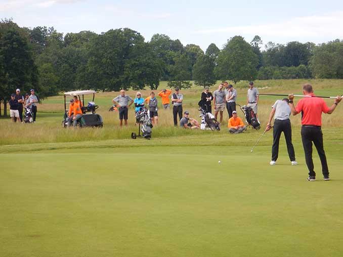 Kom og se god golf i weekenden