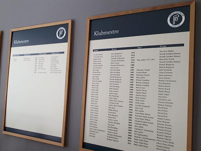 Klubmesterskaber i Furesø Golfklub